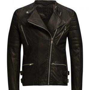 MDK / Munderingskompagniet Billy Leather Jacket (Black) nahkatakki