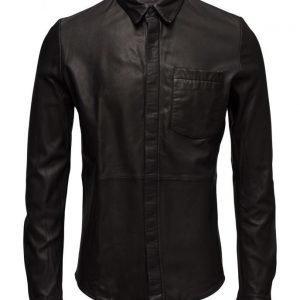 MDK / Munderingskompagniet Jack Leather Shirt
