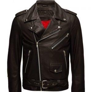 MDK / Munderingskompagniet La Biker Jacket (Black) nahkatakki