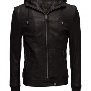 MDK / Munderingskompagniet Thomas Hood Leather Jacket nahkatakki