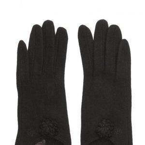 MJM Fif Wool Mix Black hanskat