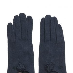 MJM Fif Wool Mix Navy hanskat