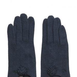 MJM Fif Wool Mix Navy hanskat