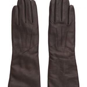 MJM Francesca Long Glove Leather Brown hanskat