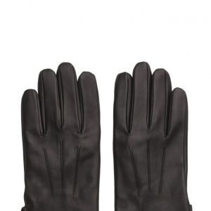 MJM Glove Joey Leather Black hanskat