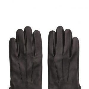 MJM Glove Joey Leather Black hanskat