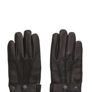 MJM Glove Lee Leather Black hanskat