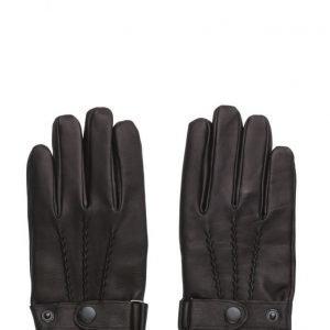 MJM Glove Lee Leather Black hanskat