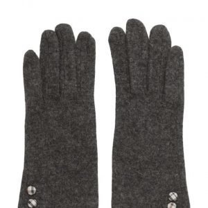 MJM Jazz Knit Wool Mix Anthracite hanskat