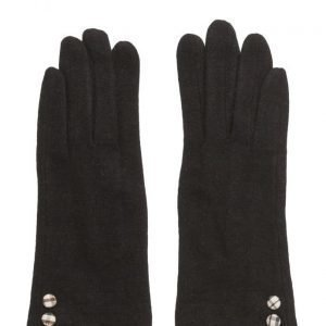 MJM Jazz Knit Wool Mix Black hanskat