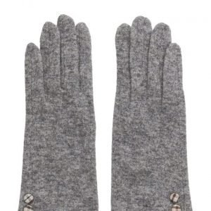 MJM Jazz Knit Wool Mix Grey hanskat