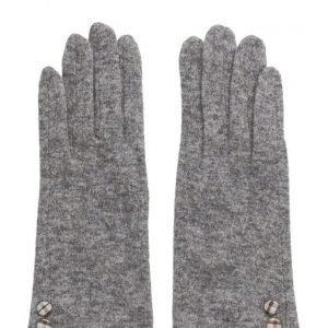 MJM Jazz Knit Wool Mix Grey hanskat
