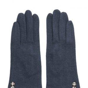 MJM Jazz Knit Wool Mix Navy hanskat