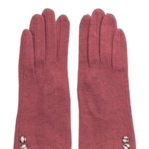 MJM Jazz Knit Wool Mix Red hanskat