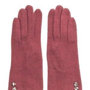 MJM Jazz Knit Wool Mix Red hanskat
