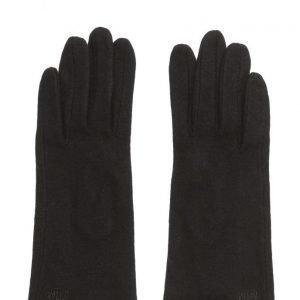 MJM Mjm Christa Wool Mix Black hanskat