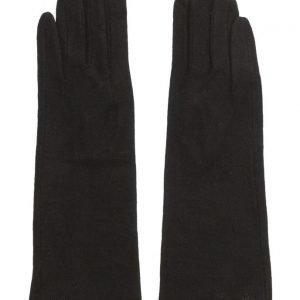 MJM Mjm Diana Wool Mix Black hanskat