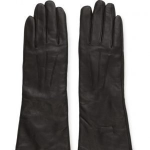 MJM Mjm Glove Francesca Long Leather Black hanskat