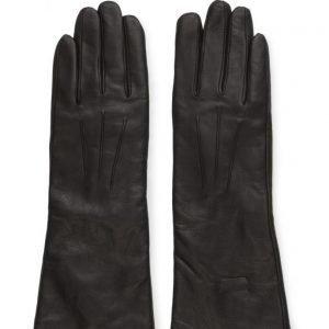 MJM Mjm Glove Francesca Long Leather Black hanskat