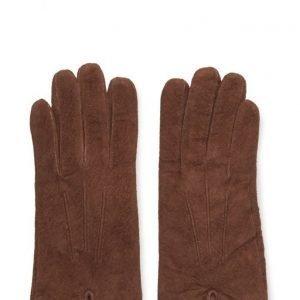 MJM Mjm Glove Lotus W Suede Cognac hanskat