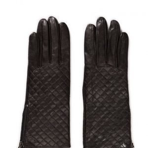 MJM Mjm Glove Lucille Quilted Sheepskin Black hanskat