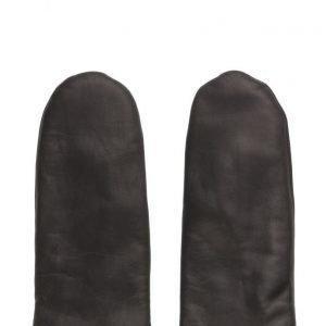 MJM Mjm Glove Mitten Leather 2 Leather Black hanskat