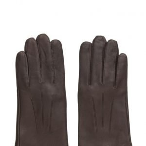 MJM Mjm Glove Olivia W Leather Anthracite/Black hanskat