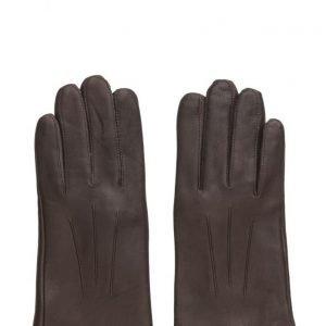 MJM Mjm Glove Olivia W Leather Anthracite/Black hanskat