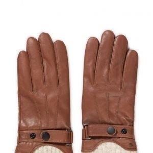 MJM Mjm Glove Ralph Leather Black hanskat