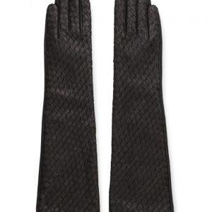 MJM Mjm Glove Sophi Long Leather Black hanskat