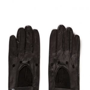 MJM Mjm Men Driving Glove 100% Leather Black hanskat