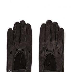 MJM Mjm Men Driving Glove 100% Leather Black hanskat