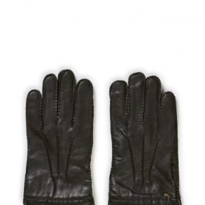 MJM Mjm Men'S Glove Perry Leather Wool/Cashmir hanskat