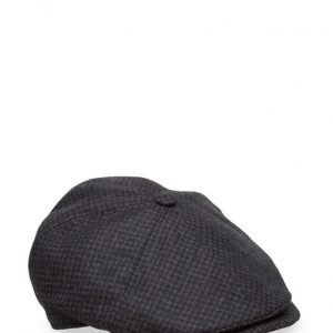 MJM Mjm Rebel Wool Mix Black Pattern lippis