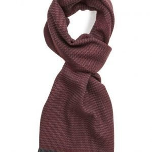MJM Mjm Scarf Firenze 100 % Lambswool Red huivi