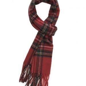 MJM Mjm Scarf Torino 100 % Lambswool Red Tartan huivi