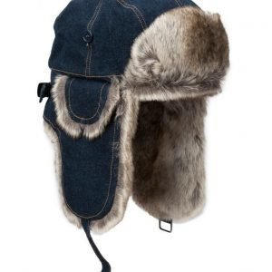MJM Mjm Trapper Denim/Faux Fur Blue