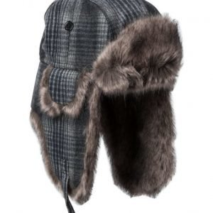 MJM Mjm Trapper Tweed/Faux Fur Brown