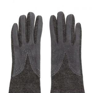 MJM Split Wool/Suede Anthracite hanskat