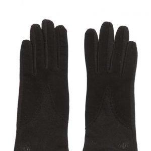 MJM Split Wool/Suede Black hanskat