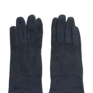 MJM Split Wool/Suede Navy hanskat