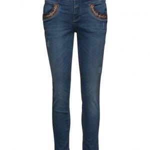 MOS MOSH Naomi Snake Jeans skinny farkut