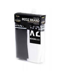 MZGZ Boxer Black + White