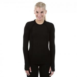 Mabs Comp Wool Compression Shirt Kompressiopaita Musta
