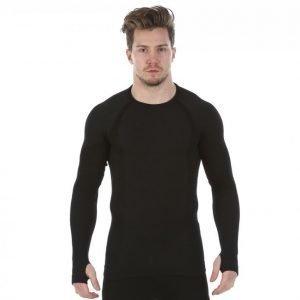 Mabs Comp Wool Compression Shirt Kompressiopaita Musta