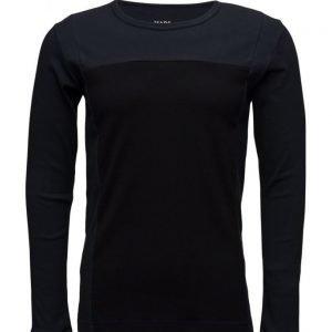 Mads Nørgaard Cotton Rib Starling Block pitkähihainen t-paita