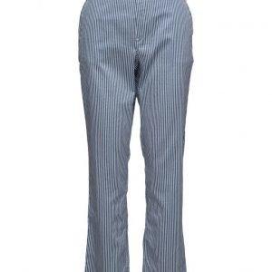 Mads Nørgaard Soft Stripy Stripe Prexa suorat housut
