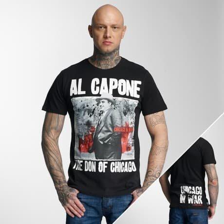 Mafia & Crime T-paita Musta