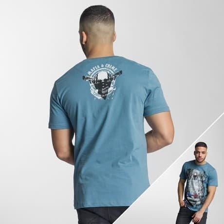 Mafia & Crime T-paita Sininen