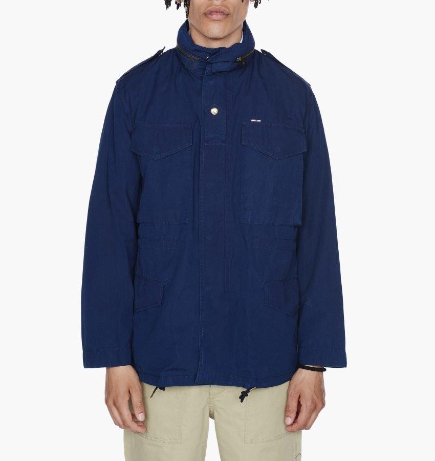 Maison Kitsune Indigo M65 Jacket